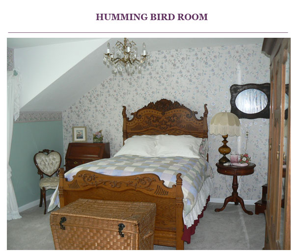 Hummingbird Room